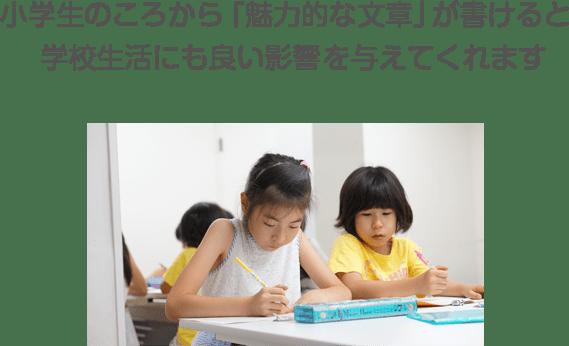 小学生のころから「魅力的な文章」が書けると学校生活にも良い影響を与えてくれます
